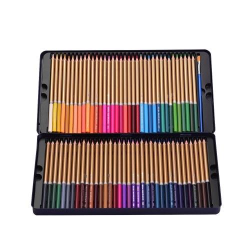 Set di 72 matite colorate professionali