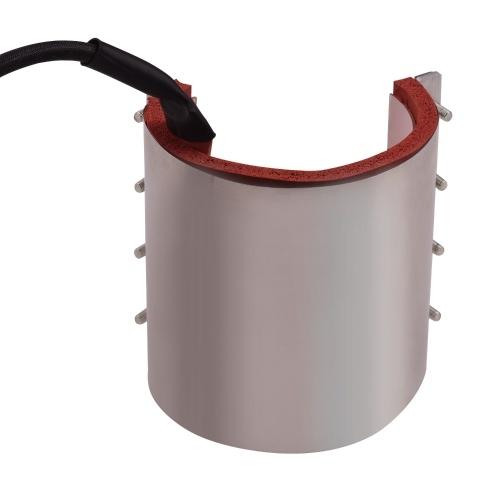 Aibecy Mug Cup Press Heating Transfer Attachment Silica Gel 9oz(12*19cm) 110V for Heat Press Machine Transfer Sublimation