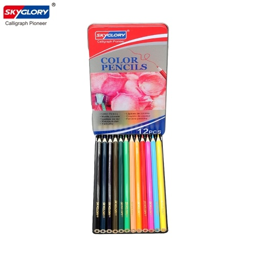 Набор цветных карандашей SKYGLORY 12