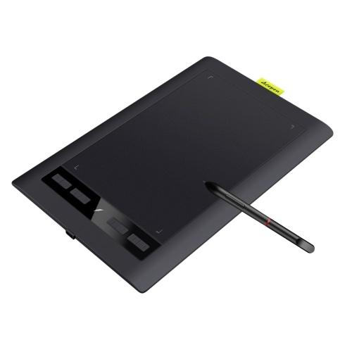Acepen AP1060 Professional 10 * 6 Zoll Kunst Digital Graphics Drawing Tablet Pad Board Kit