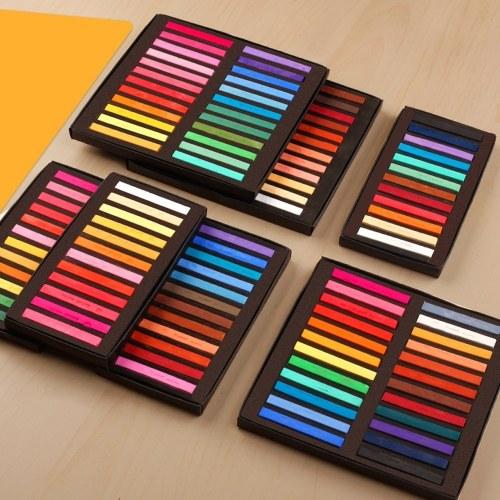 Set 12 colori pastello quadrati