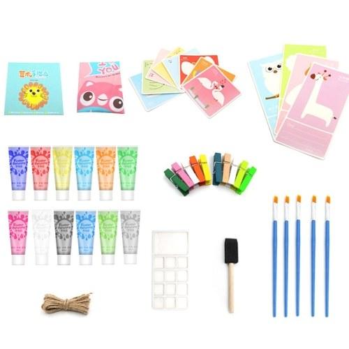 Kit di 12 colori per pittura a guazzo