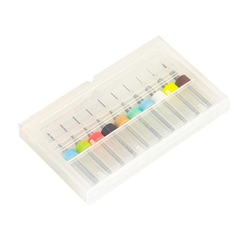 TRONXY 10 pezzi Strumenti per la pulizia degli ugelli della stampante 3D Aghi per la pulizia Trapano da 0,1-1 mm con scatola trasparente