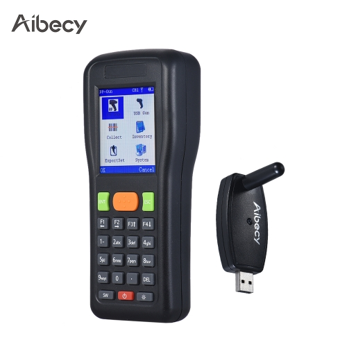 aibecy lm3306 handheld inventory data terminal collector wireless & wired barcode scanner pdt 1d bar code scanning engine for supermarket warehouse