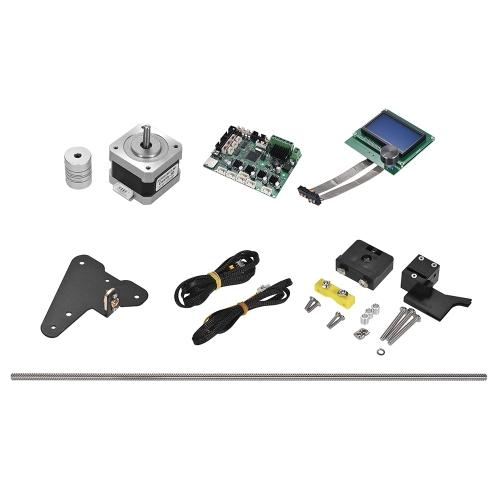 Kit de atualização de criatividade completa CR-10 Inclui Z Axis parafusos de duplo ponto Detector de filamentos Fios do motor Acessórios de impressora 3D Peças CR-10S