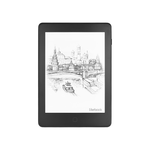 Ebook reader Likebook Air Ebook Reader con 6 '' E-Ink Touchscreen Frontlight Wi-Fi Funzione Bluetooth Sistema Android