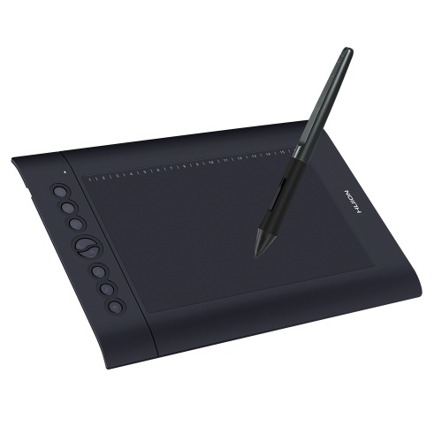 Huion H610 Pro V2 10x6.25 Inch Professional Graphics Drawing Tablet Signature Pad Board