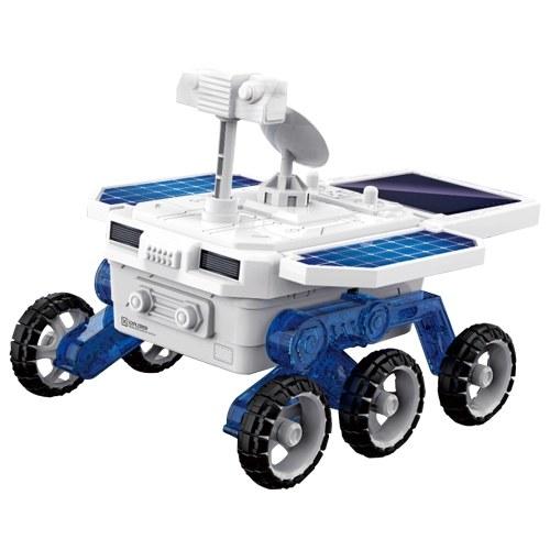 DIY Solar Mars Exploration Car 4WD Vehicle Assembly Kits