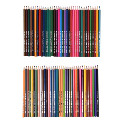 72 Color Premium Pre-Sharpened Water-soluble Water Colored Pencils Set with Brush for Kids Adults Artist Art Drawing Sketching Writing Artwork Coloring Books