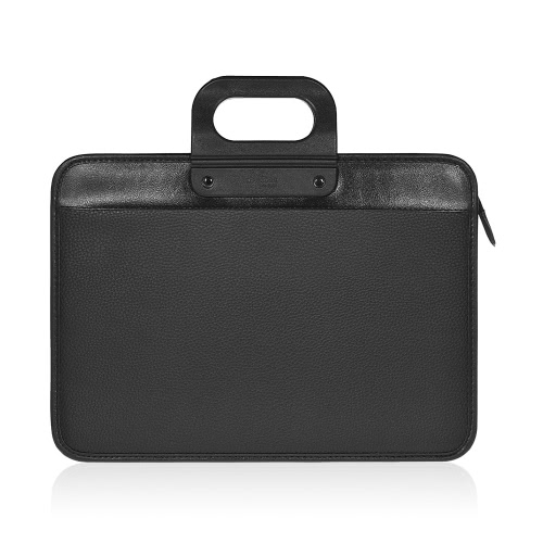 Dual Layer Expanding Top Handle Business Briefcase Bag Office School Meeting Carrying Case Handbag A4 / Legal / Letter Size File Document Bills Breve relatório Organizer Holder Folder