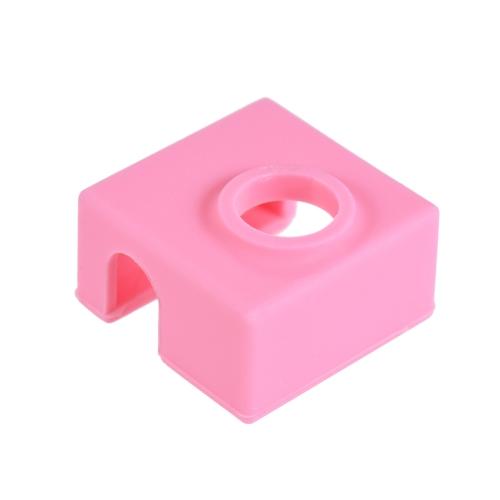 1 pc Silikonowe skarpety okładka Izolacja cieplna obudowa 280 ℃ Odporne na wysoką temperaturę do bloku grzejnika MK7 / MK8 / MK9