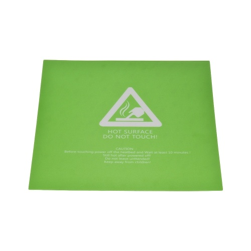300 * 300mm Heat Bed Sticker Sheet Hot Bed Build Surface Tape with Adhesive Back for 3D Printer Creality CR-10 CR-10S