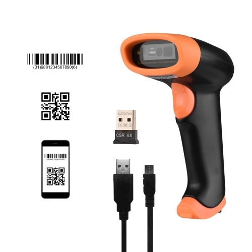 Aibecy Handheld Bluetooth Barcode Scanner