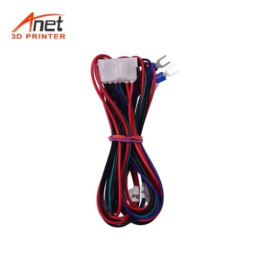 Anet Hotbed Fio (20AWG) Heatbed Aquecida Linha de Fio de Cabo para Anet A8 Plus E16 Impressora 3D Fornecedores de Atualização Comprimento 90 cm / 35.4 polegada