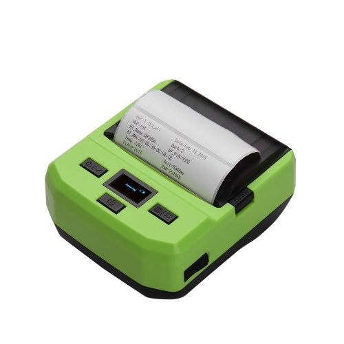 Portable Wireless BT 80mm Thermal Barcode Printer