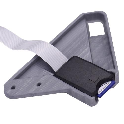 Aibecy TF to SD Card Suite Удлинительный кабель-адаптер Удлинитель 48 см с SD-картой 8 ГБ и устройством для чтения карт памяти Совместим с 3D-принтером Creality CR-10 CR-10S