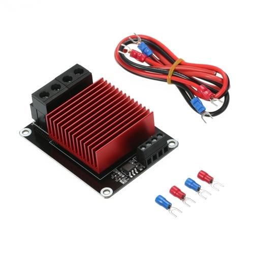 Contrôleur de chauffage de foyer d'imprimante 3D Module MOS de charge élevée carte MOSFET dépassant 30A Compatible pour imprimante 3D CR-10 Ender-3 Prusa TEVO