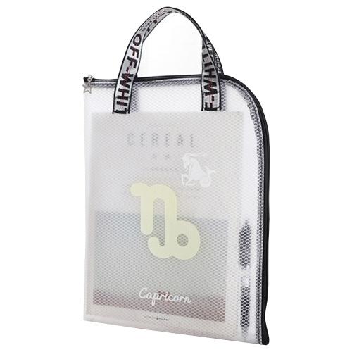 1 шт. Двенадцать созвездий EVA сумка для файлов на молнии A4 прозрачная папка для документов сумка-органайзер случайный цвет для школьных канцелярских принадлежностей
