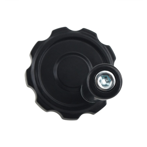 Aibecy 3D-Druckerteile 62 mm Durchmesser Schwarzes Aluminiumlegierungs-Handrad mit Bakelit-Griff-Werkzeugmaschine für T8-Leitspindel
