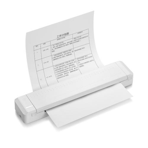Stampante portatile Poooli A4 Paper Printer Stampante a trasferimento termico diretto
