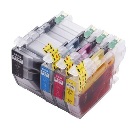Aibecy-kompatibler Tintenpatronenersatz für LC3019 LC-3019 Hochleistungskompatibel mit Brother MFC-J5330DW MFC-J5335DW MFC-J6930DW MFC-J6730DW MFC-6530DW Drucker 4er-Pack (1 Schwarz, 1 Cyan, 1 Magenta, 1 Gelb)