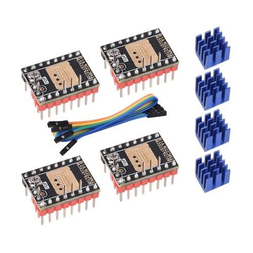 BIQU TMC2226 V1.0 Stepper Motor Driver UART 2.8A 3D Printer Parts for SKR V1.3 V1.4 Turbo CR10 Ender