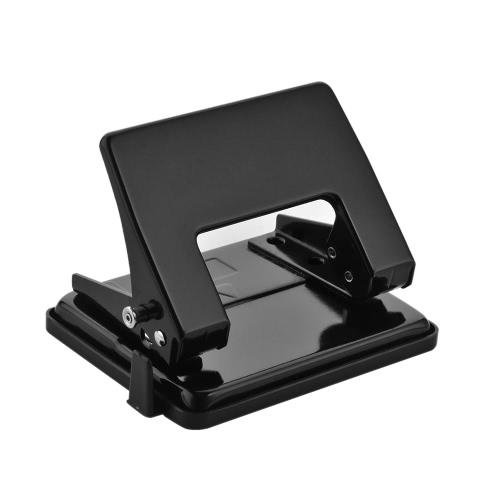 Portátil de precisão 2-Furos Officemate para área de trabalho papel de arquivo Notebook Max. Soco Capacidade 12 folhas Lowforce Capacidade (cor aleatória Entregue)