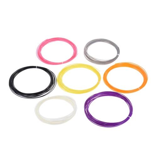 200m / 656.2ft Drukowanie 3D Pen ABS włókien Refill 1.75mm Dzieci prezent na Boże Narodzenie (20 różnych kolorach Wysłane Random)
