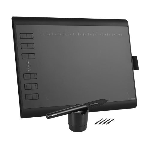 HUION 1060PLUS Portable Drawing Graphics Tablet para Windows Mac PC