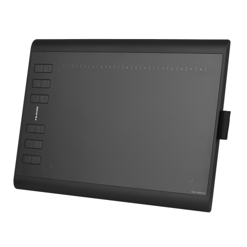 HUION 1060 PLUS Portable Drawing Graphics Tablet para Windows Mac PC