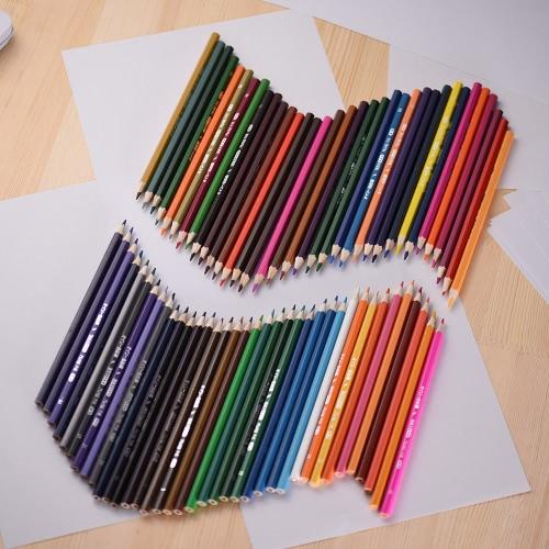 72 lápis de cor Premium Based Pré-Sharpened Oil jogo colorido para adultos dos miúdos Artista Desenho Art Esboços escrita arte Livros de Colorir