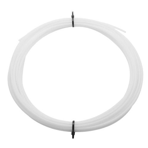 10 Metros Teflon Pipe Tube para J-head Hotend Extruder Alimentação remota de bicos Filtro de 1,75 mm 2 mm Diâmetro interno 4 mm Diâmetro externo para impressora 3D