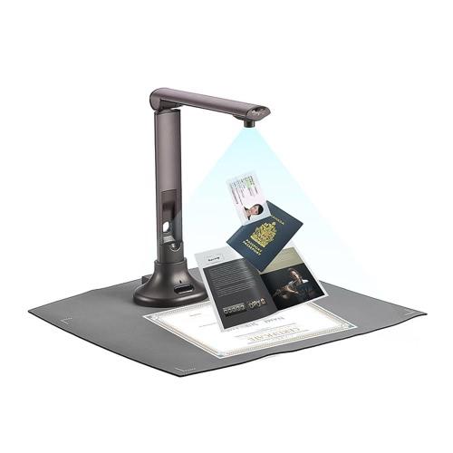 Scanner de Câmera de Documento USB A3 de Alta Velocidade Portátil Apresentador Visual para Sala de Reunião Biblioteca de Escritório Sala de Reunião Banco