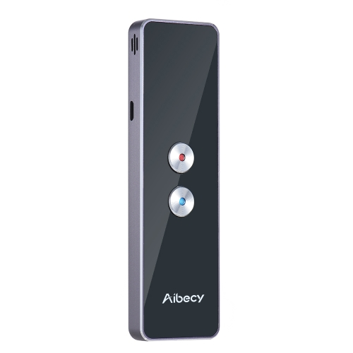 49% OFF Aibecy Real-time 2-way Instant Multi Language Translator,limited offer $47.99