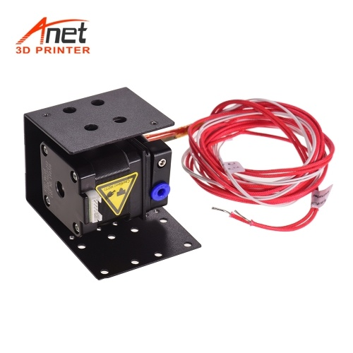 Anet 3D Printer Extruder Remote Feeder Feeding Kit with 1.5 Meters Heater Tube