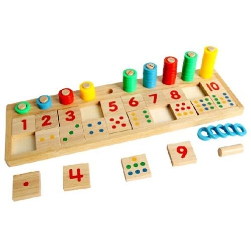 Деревянная Математическая Игра Доска Номер Головоломки Сортировка Монтессори Игрушки Обучающие Инструменты Обучения