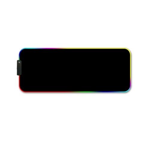 RGB световой коврик для мыши световой коврик для мыши светодиодный RGB игровой коврик для мыши большой коврик для мыши геймер светодиодный компьютерный коврик для мыши большой коврик для мыши с подсветкой коврик для клавиатуры стола фото