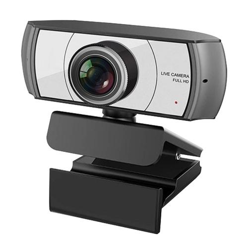 1080P HD-Streaming-Webcam USB-Computer Videokamera 2 Megapixel 120 ° Wide Viewing Manual Focus