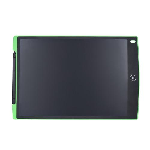 12-Inch Desenho Escrever LCD Graphic Tablets Pad eWrite Jot com Stylus para Crianças Estudantes escritório memorando mensagem nota (cores aleatórias Delivery)