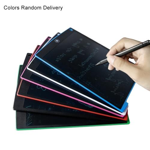 12-calowy telewizor LCD graficzny Pisanie Rysunek tablety Pad eWrite Jot z rysika dla dzieci Studenci Urzędu Memo notatka (Kolory Losowe dostawa)