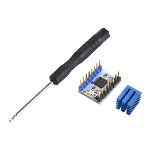Modulo driver motore passo-passo silenzioso TMC2130 V1.0 da 1pc con parti di ricambio per stampante 3D con cacciavite di calore
