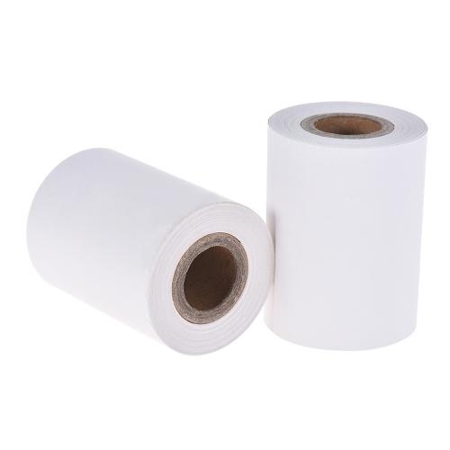 """2 Rollen 57mm Thermopapier 2 1/4 """"Thermobondrucker Papierkasse Thermodrucke 16 Mt / Rolle"""