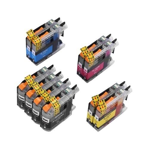 LC-103XL Cartouche D'encre Compatible Remplacement 10 Pack pour Brother MFC-J4310DW J4410DW J4410DW J4510DW J4710DW J4710DW J4720DW J470DW J475DW J650DW J870DW J875DW J6920DW DCP-J152W Imprimante