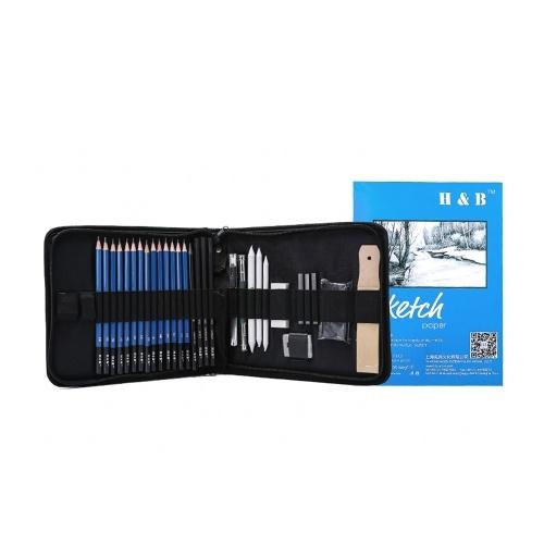 H&B 35pcs/set Professional Drawing Kit