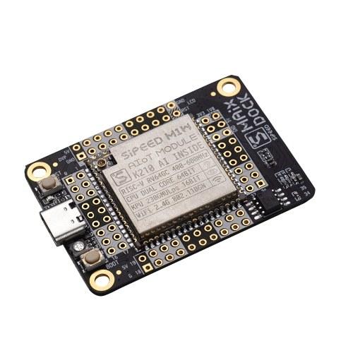 Modulo AIOT scheda di sviluppo dock Sipeed M1 W con WiFi + schermo LCD 320 * 240 da 2,4 pollici + kit videocamera OV2640