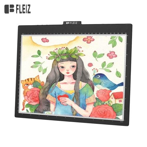 FLEIZ Tragbarer A4-LED-Light-Box-Tracer mit USB-Tracing-Light-Pad