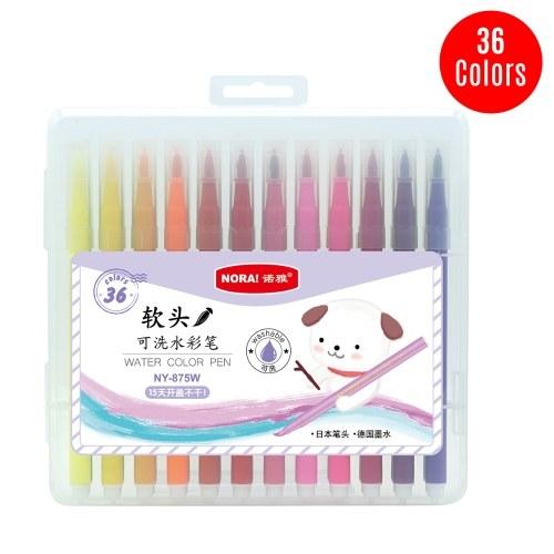 Set di pennarelli per acquerelli lavabili a 36 colori