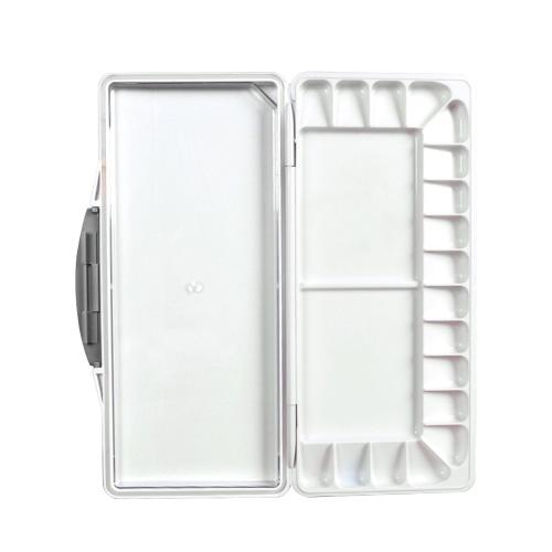 Tragbare Aquarell-Farbpaletten-Kasten-Faltfarbtablett