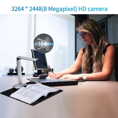 Aibecy F50A USB Document Camera Scanner 8 Mega-Pixel HD Camera A4 Capture Size