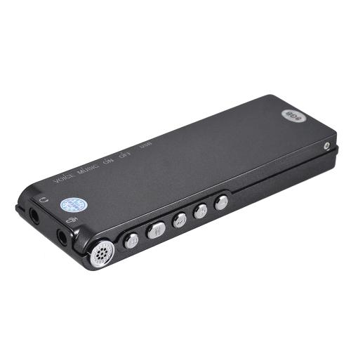 Профессиональный речевой аудио-диктофон Диктофон 8 ГБ MP3-плеер Музыка Активный 384 Кбит / с Поддержка многоязычных деловых встреч Концертные лекции фото